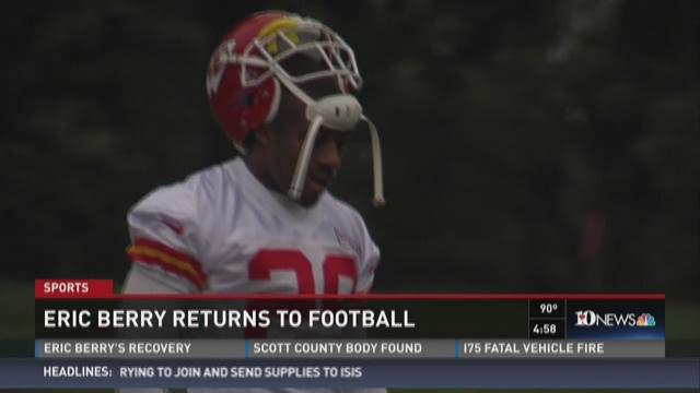 Eric Berry returns to football