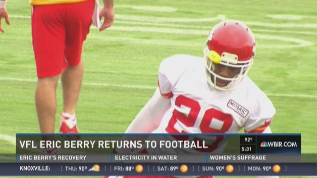 Did Eric Berry beat the odds with Hodgin's lymphoma?