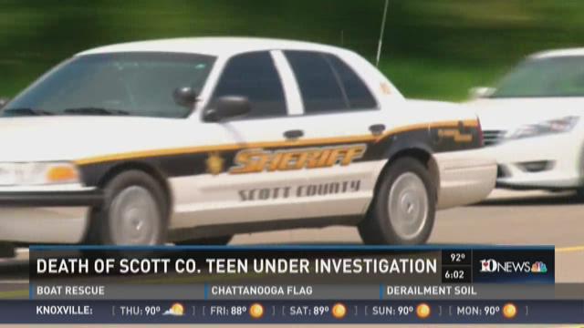 Death of Scott County teen under investigation