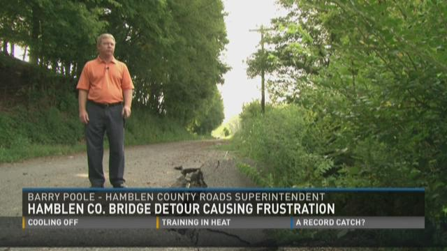 Hamblen County bridge detour causing frustration