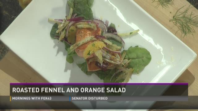 Roasted Fennel and Orange Salad