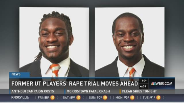Former UT players' rape trial moves ahead