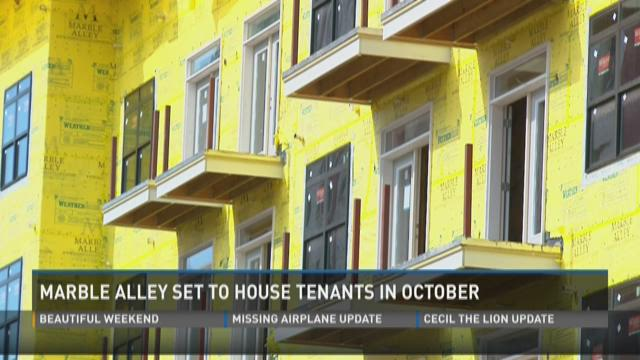 Marble Alley set to house tenants in October