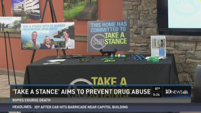 'Take a Stance' aims to prevent drug abuse