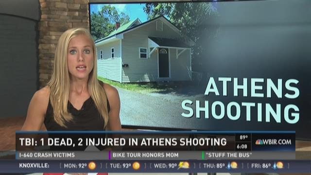 TBI: 1 Dead, 2 Injured in Athens shooting