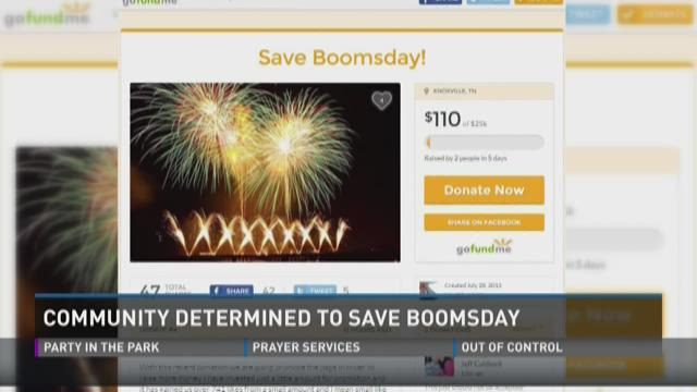 Community determined to save Boomsday