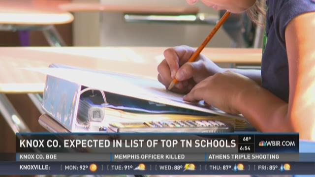 Knox County expected in list of top Tennessee schools