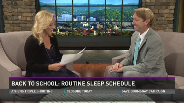 Routine sleep schedule