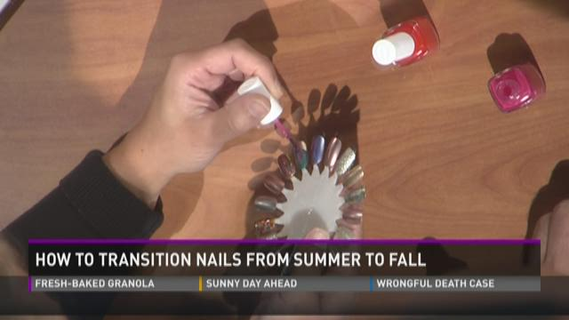 How to transition nails from summer to fall
