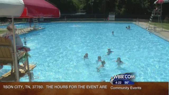 Knox Co. kids soak up final days of summer