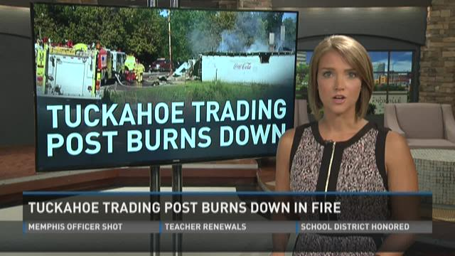 Tuckahoe Trading Post burns in fire