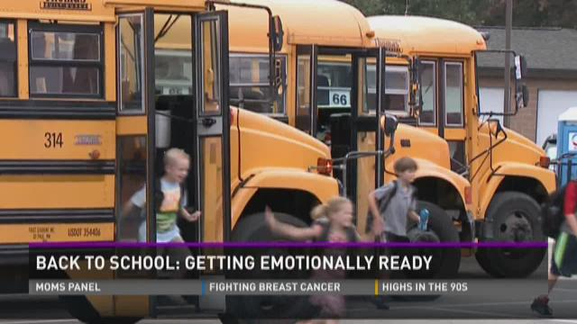 Back to school: Getting emotionally ready