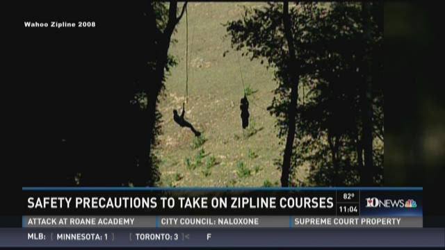 Safety precautions to take on zipline courses