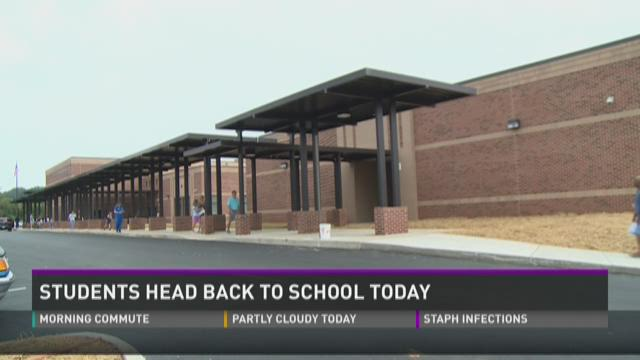It's the first day of school for many East Tennessee students. Knox ...
