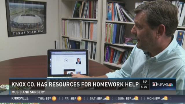 Parent resources for homework help