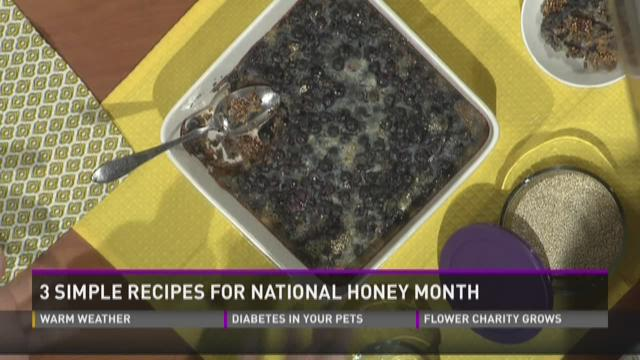 3 simple recipes for National Honey Month