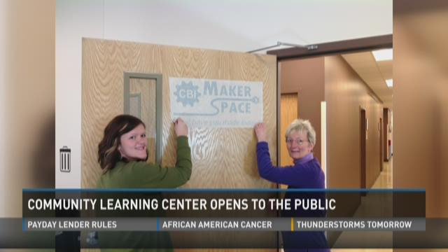 Community learning center opens to the public