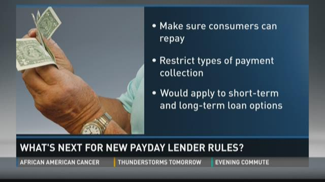 What's next for new payday lender rules?
