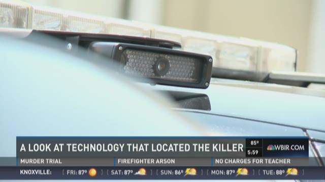 License plate reader technology helped catch a killer