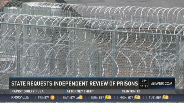 State requests independent review of prisons