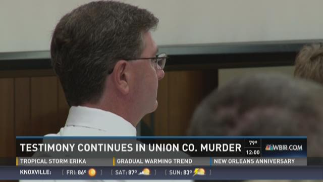 Testimony continues in Union County murder