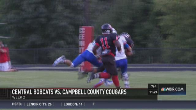 Central shuts out Campbell County