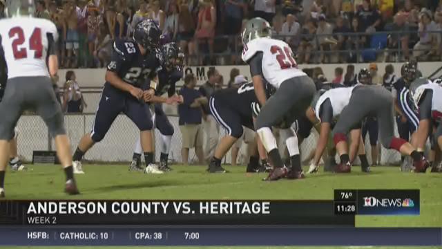 Anderson County vs. Heritage
