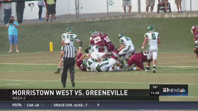 Morristown West vs. Greeneville