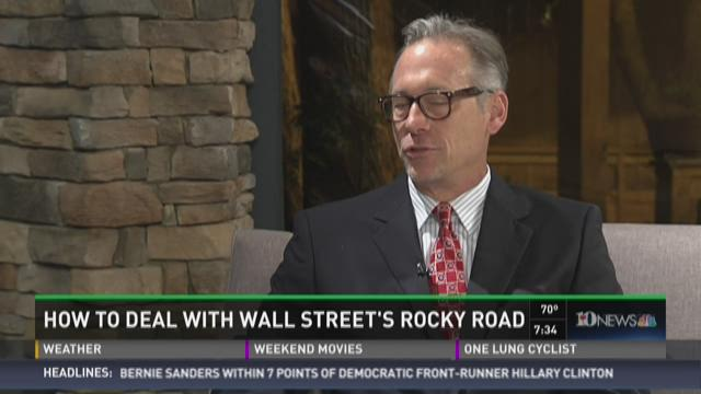 How to deal with Wall Street's rocky road
