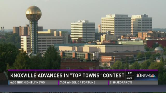 And Finally: Knoxville advances in 'Top Towns' contest