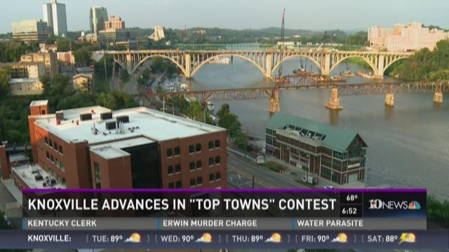 "Knoxville advances in ""Top Towns"" contest"