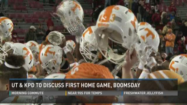 UT & KPD to discuss first home game, Boomsday
