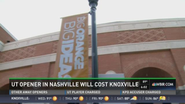 UT opener in Nashville will cost Knoxville