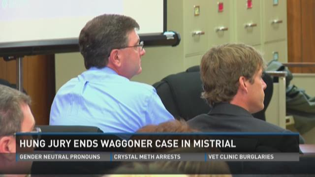 Hung jury ends Waggoner case in mistrial