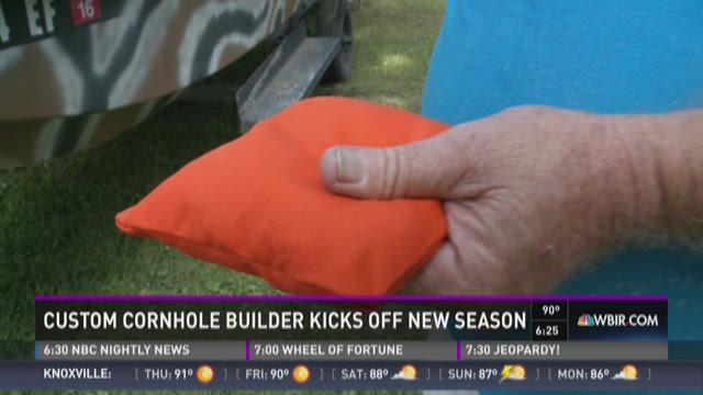 And Finally: Custom Cornhole builder kicks off new season