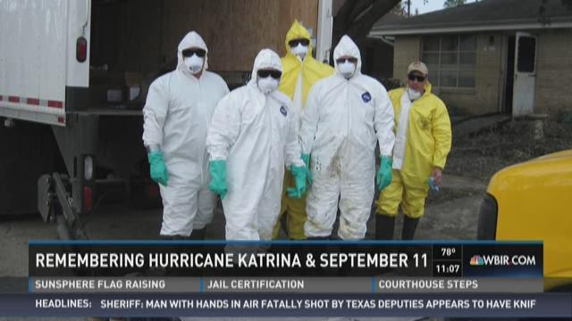 Investigative veterans recall work after Katrina, 9/11 attacks