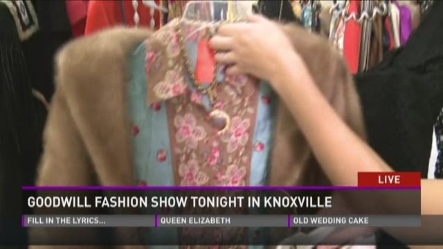 Goodwill fashion show Thursday night in Knoxville