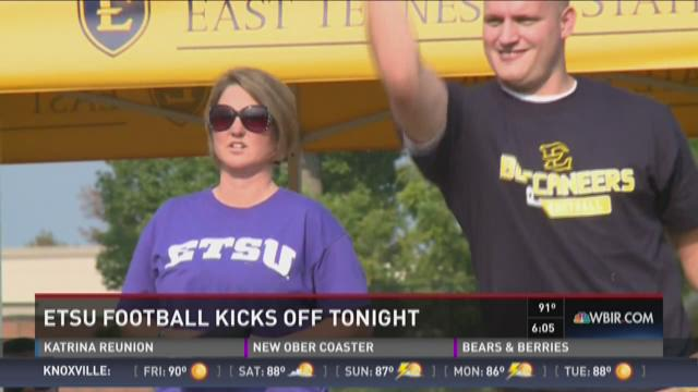 ETSU football kicks off tonight