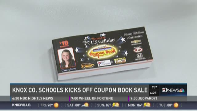 And Finally: It's coupon book time in Knox County