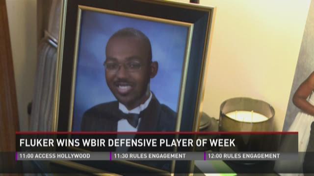Fluker wins WBIR Defensive Player of the Week