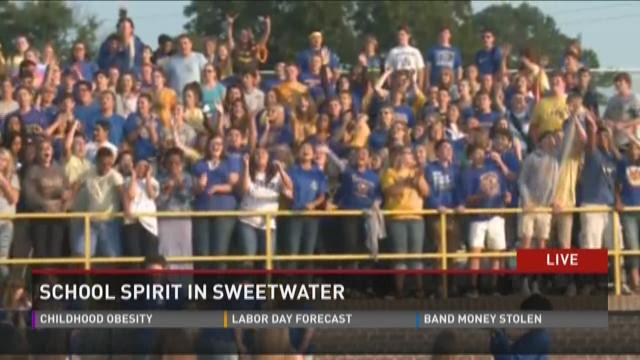 School in spirit in Sweetwater