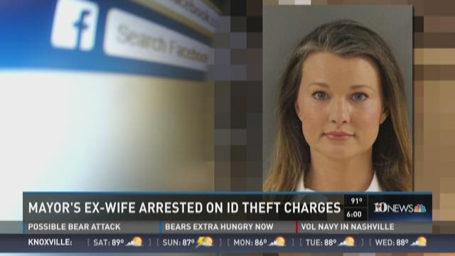 Mayor's Ex-wife arrested on ID theft charges