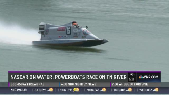 And Finally: NASCAR on water, Powerboats race on TN River