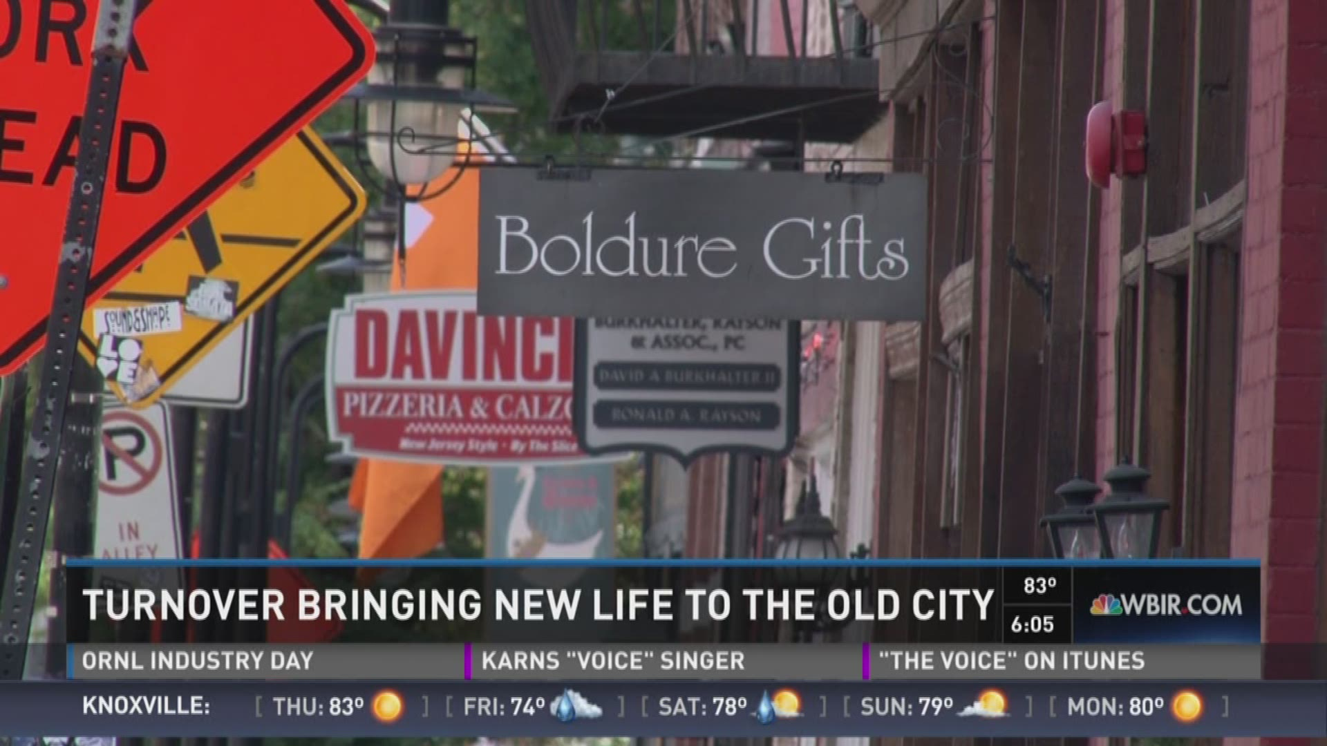 Turnover bringing new life to Old City