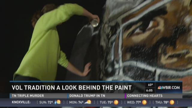 A look behind the paint
