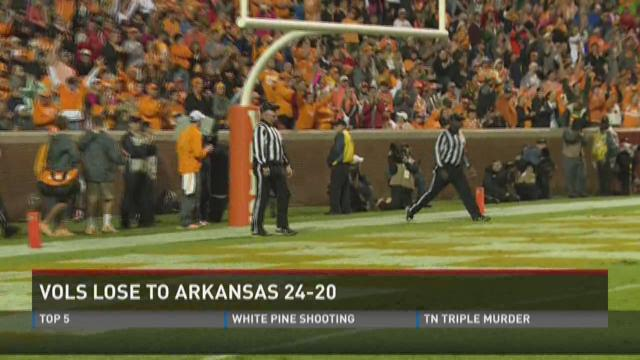 Breaking down Vols loss to Arkansas