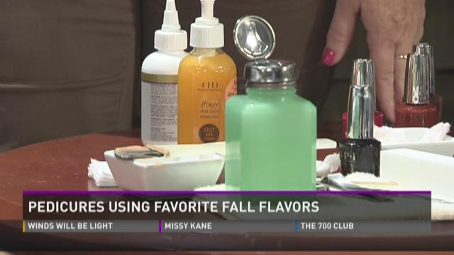 Pedicures Using Favorite Fall Flavors Part Two