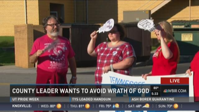 """Blount County leader wants to avoid """"wrath of God"""""""
