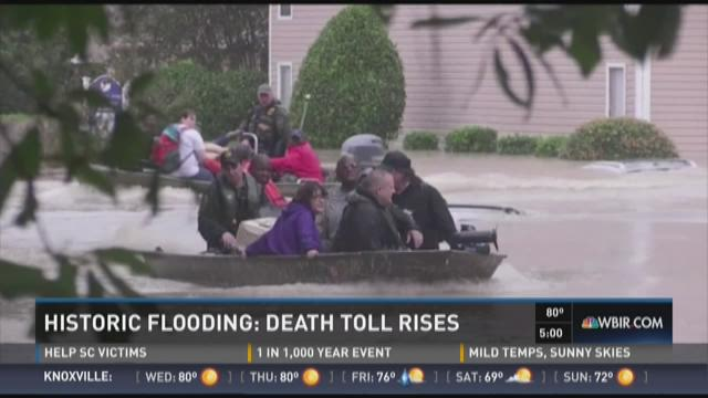 SC flooding woes continue, ET residents donate to help