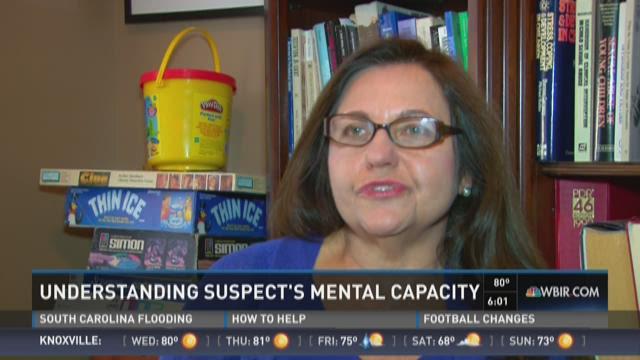 Understanding young defendant's mental capacity